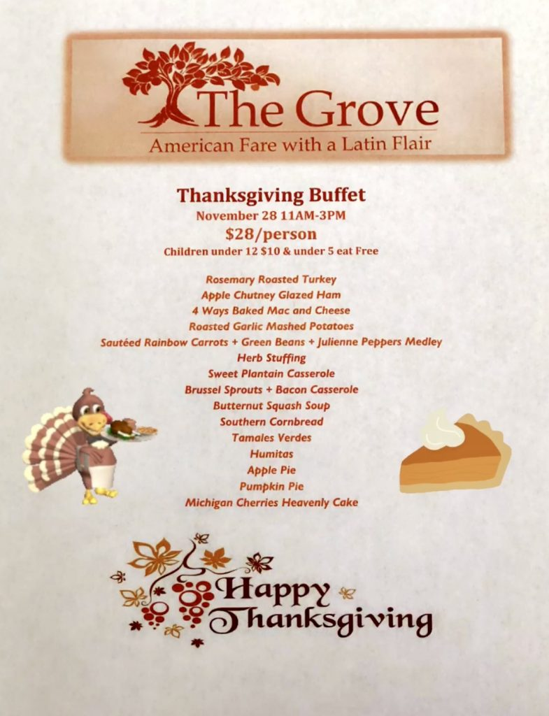 The Grove Thanksgiving